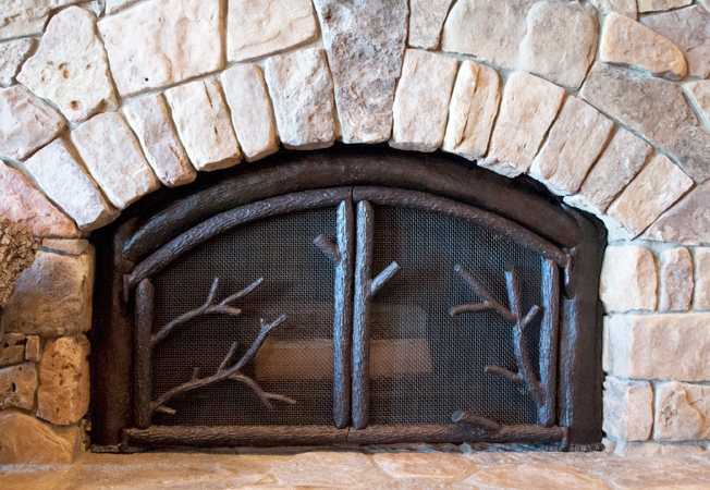 Hand Forged Fireplace Accessories
